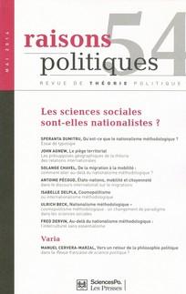 Les sciences sociales sont-elles nationalistes ?