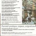 """<strong>16 novembre</strong> – Séminaire """"Parenté pratique, espace, migrations"""" coordonné par Jennifer Bidet"""