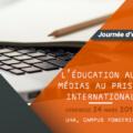 <strong>24 mars </strong> – Conférence inaugurale de Laurence Corroy à une JE sur l'Éducation aux médias au prisme international