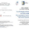 <strong>21 mars </strong> – Intervention de Eric Letonturier au Colloque « Les Français et leur armée au XXIe siècle »