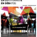 """<strong>Les 22-23-24 novembre> – Interventions de plusieurs membres du Cerlis au colloque USPC """"La citoyenneté en débat(s)"""""""