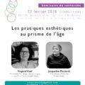 """<strong>Le 22 février> – 2ème séance du Séminaire """"Corps et beauté"""" coorganisé par Marion Braizaz"""
