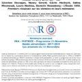 <strong>Le 10 avril> – Interventions de S. Dessajan, N. Girard, L. Nattiez au Séminaire INA – MATRICE – Programme 13-Novembre