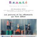 """<strong>Le 20 décembre> – Séminaire """"Corps et beauté"""" organisé par Marion Braizaz"""
