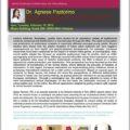 <strong>Le 19 février> – Intervention d'Agnese Pastorino à l'université de San Diego