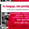 <strong>Le 16 avril> – Présentation de leur livre avec Cécile CANUT, Félix DANOS, Manon HIM-AQUILLI et Caroline PANIS
