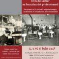 <strong>Les 4-5-6 juin> – Interventions de Véra Léon et Sébastien-Akira Alix à un colloque  sur Les jeunes et le travail, Lyon