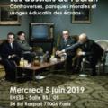 <strong>Le 5 juin> – Participation d'Eric Dagiral à une JE de la MSH Paris