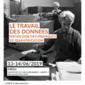 <strong>Les 13-14 juin> – Participation d'Eric Dagiral au colloque sur le Travail des données, Caen