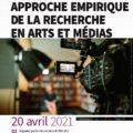 """<strong>20 avril 2021 > – Intervention de membres de l'ED267 à  JE """"déontologie, approche empirique de la recherche en arts et médias"""""""
