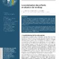 """<strong>Avril 2021 > – Eric Plaisance, """"La scolarisation des enfants en situation de handicap"""", FCPE"""